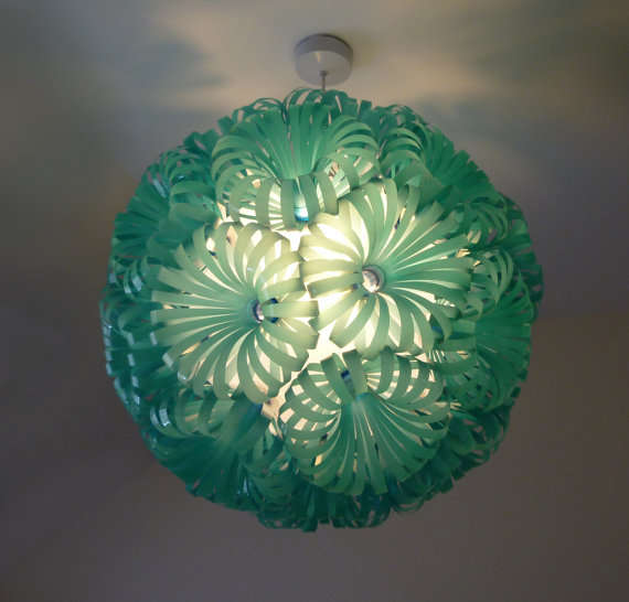 Cola 30 - Plastic Bottle Ceiling Light ( $758.16 USD )