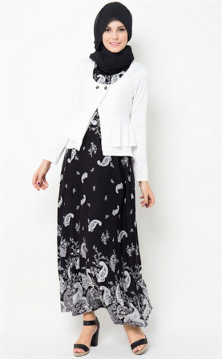 Model Baju Batik Muslimah Modern Terbaru 2015 dan 2016