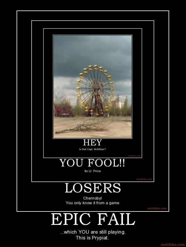 Chernobyl demotivational posters