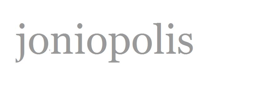 Joniopolis