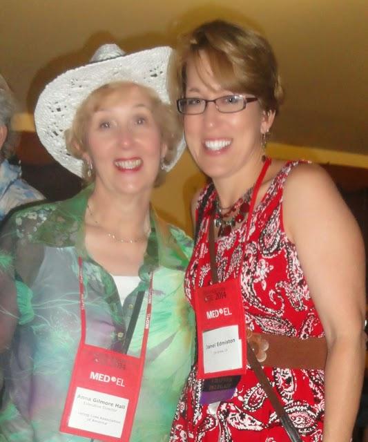 Anna Gilmore Hall and Janel Edmiston photo