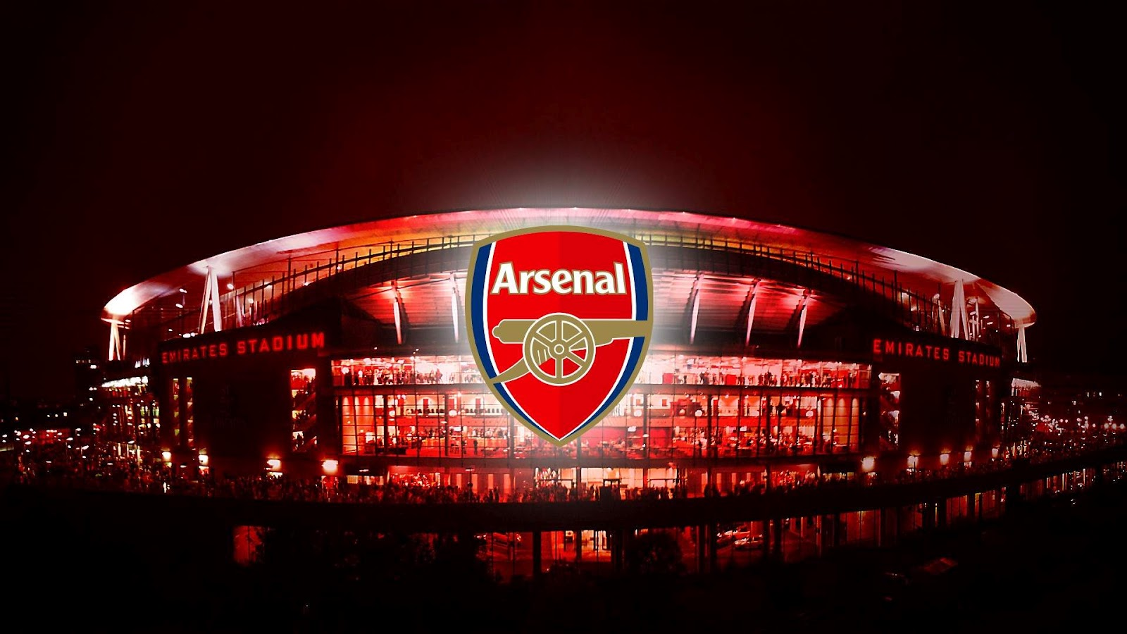 The Emirates Stadium Arsenal Fc Logo 2013