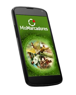 """""""Mis Marcadores"""" tu app de resultados deportivos 24 horas"""