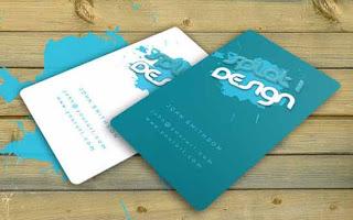 Download Contoh Desain Kartu Nama