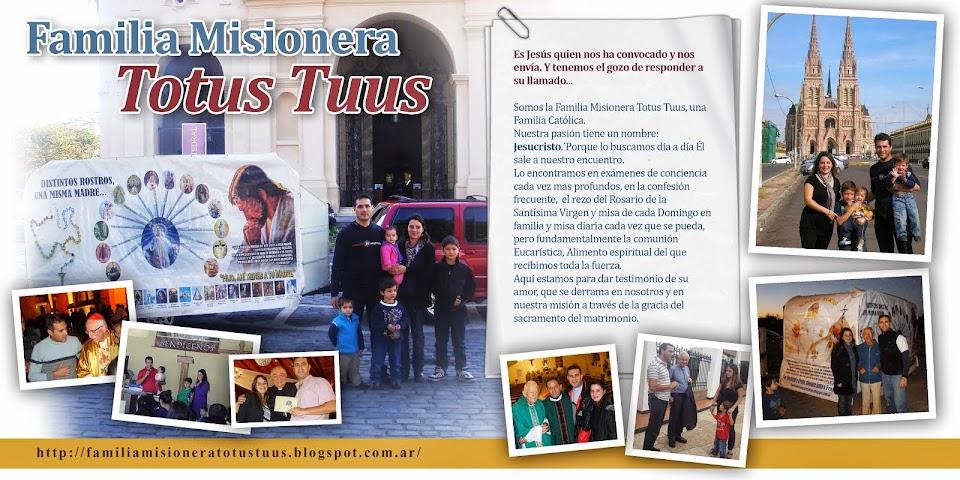 FAMILIA MISIONERA TOTUS TUUS