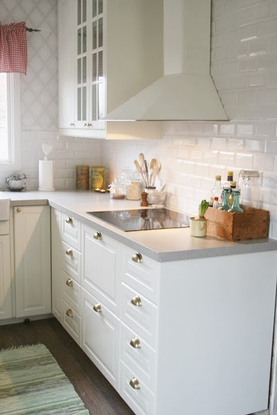 1000 images about cucina on pinterest grey cabinets - Cucina ikea bodbyn ...