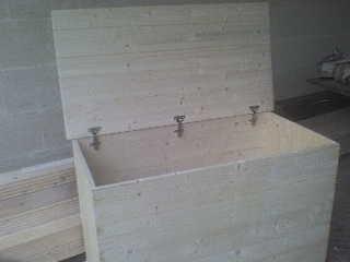 Fai da te hobby legno cassapanca for Cassapanca fai da te