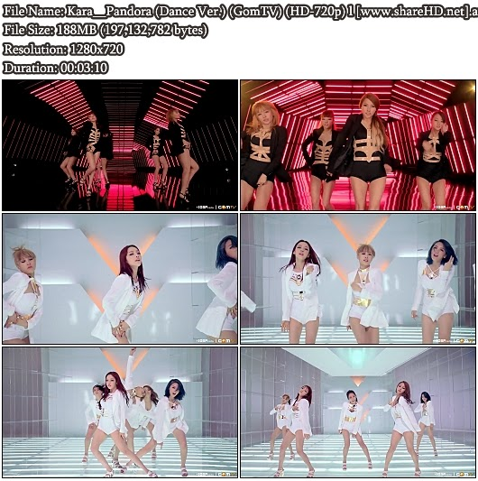 Download MV Kara - Pandora (Dance Version) (GomTV HD 720p)