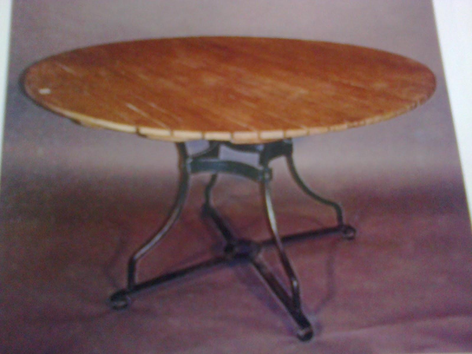 muebles de forja Hacer bricolaje es facilisimo  - imagenes de muebles en hierro forjado y madera