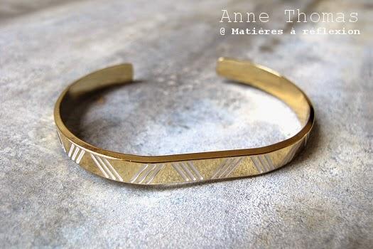 Bracelet Anne Thomas blanc Emma