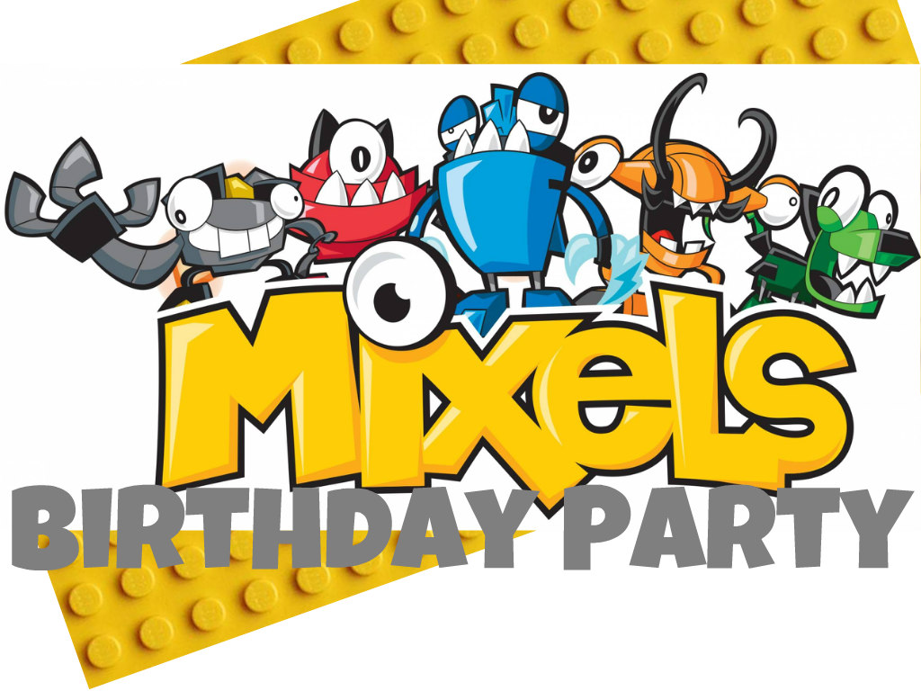 Mixels Birthday Party The Wicker House