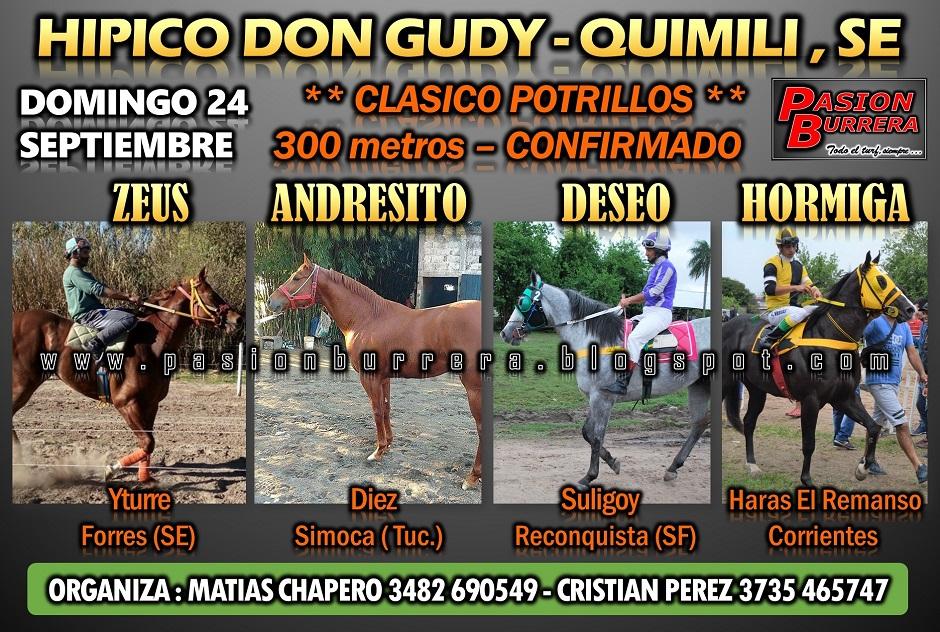 QUIMILI -24 - 300 POTRILLOS