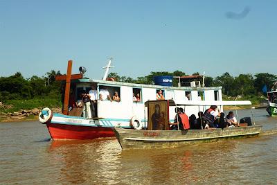 Um caminho de estradas e de águas: os símbolos da JMJ na Amazônia
