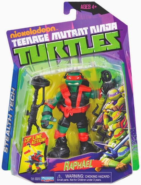 JUGUETES - LAS TORTUGAS NINJA  Stealth Tech - Raphael | Figura - Muñeco  Producto Oficial | Playmates - Giochi Preziosi | A partir de 4 años