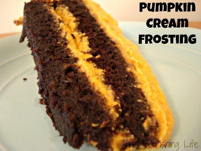 Pumpkin Cashew Cream Frosting