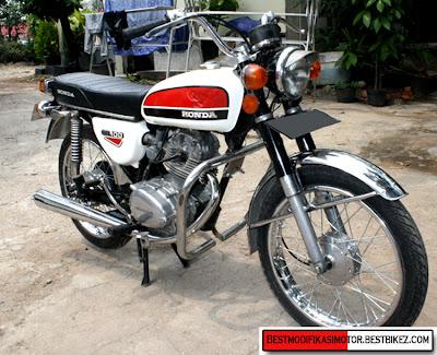 Modifikasi Honda Beat Drag