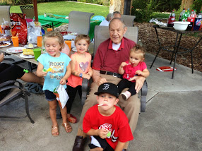 The littles & Gramps
