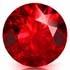 Batu Permata Warna Merah