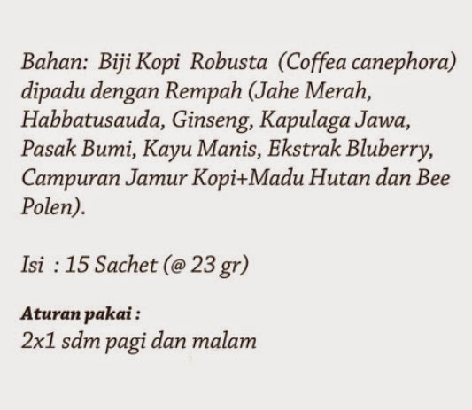 Jual Herbal Spice Coffee BAIO Pekanbaru STERLAKcom