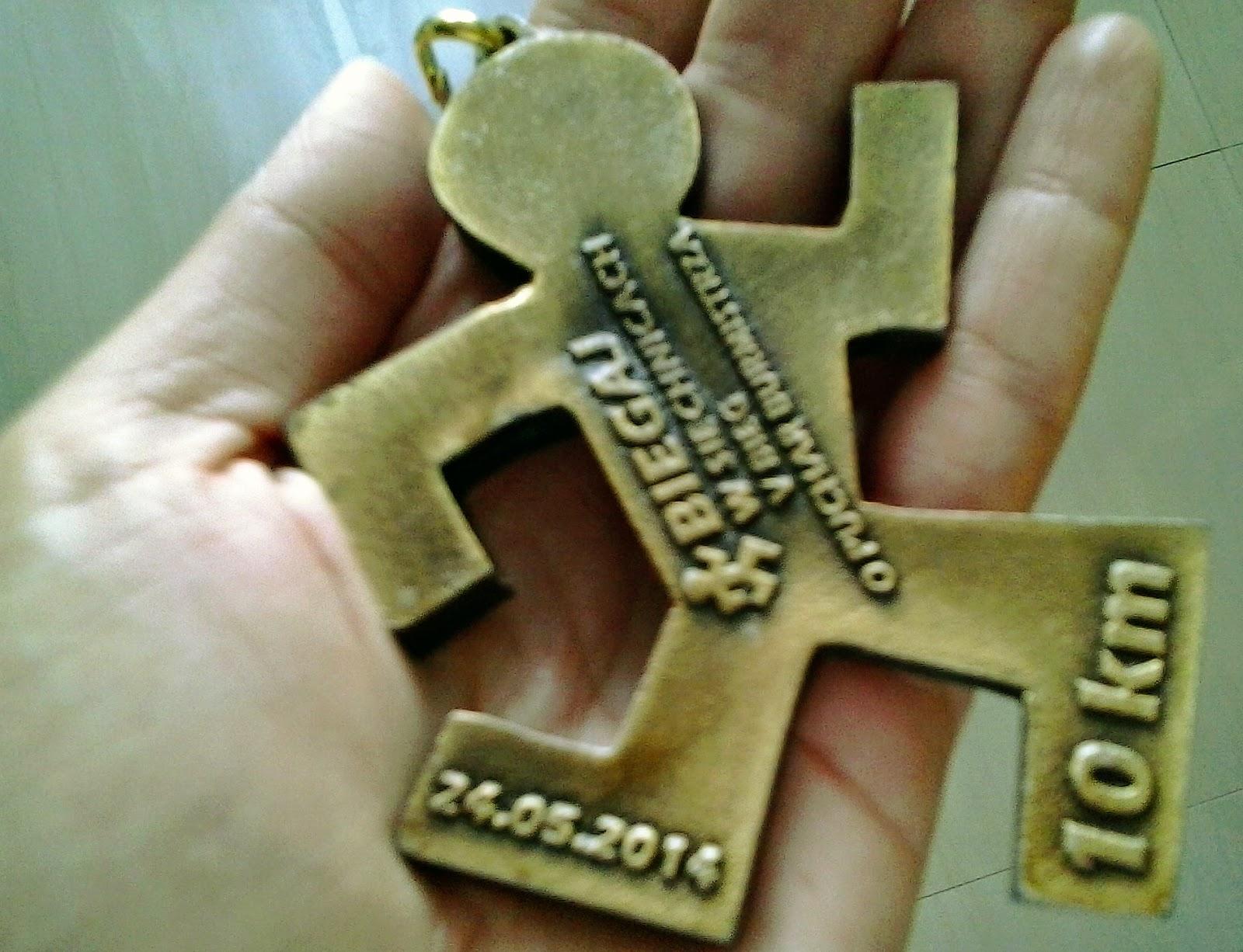 Medal - biegaj w Siechnicach