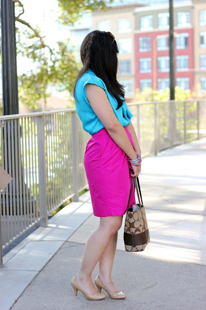 Bright Colors and Neutrals