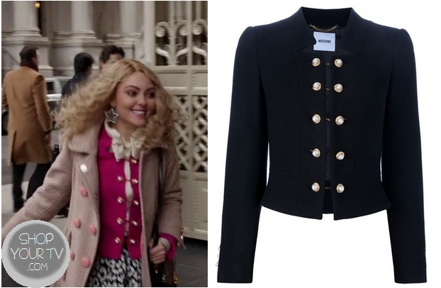 The Carrie Diaries: Season 1 Episode 8 Carrie's Pink Military ...