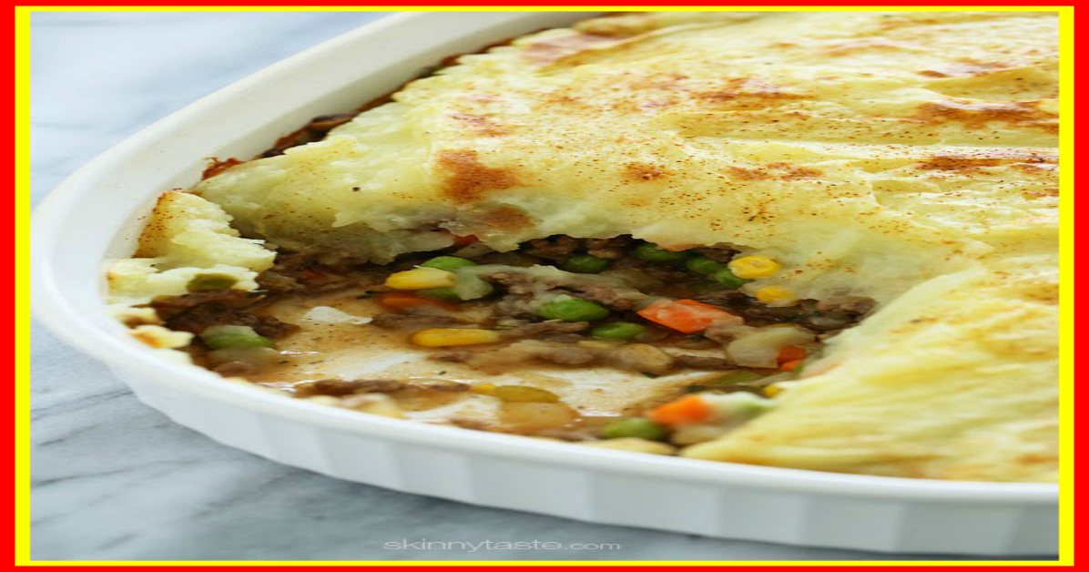 weight watchers best recipes | Shepherd's Pie, Lightened ...