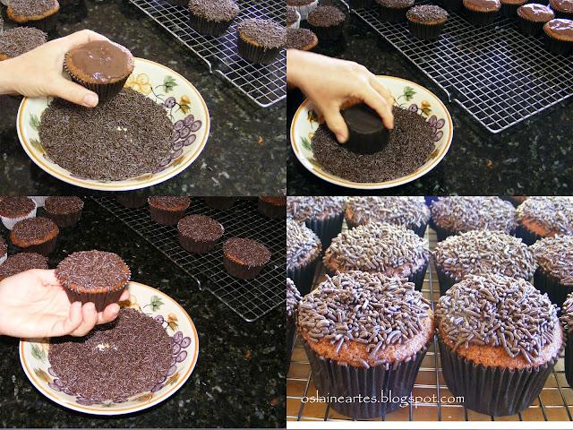 Decorando Cupcakes sem Bagunça
