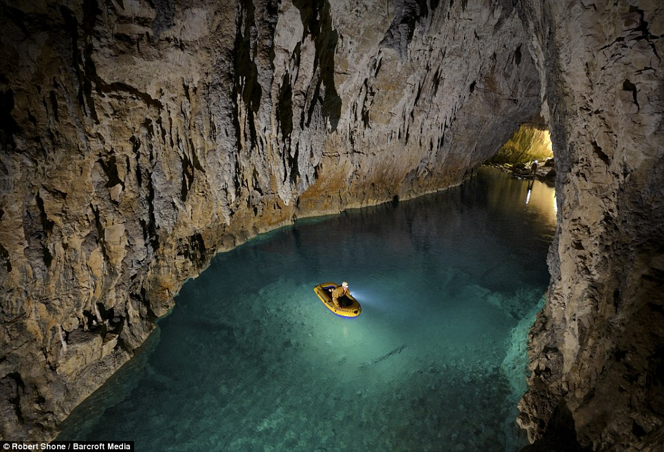 Journey to the centre of the earth: British climbers drop nearly ...
