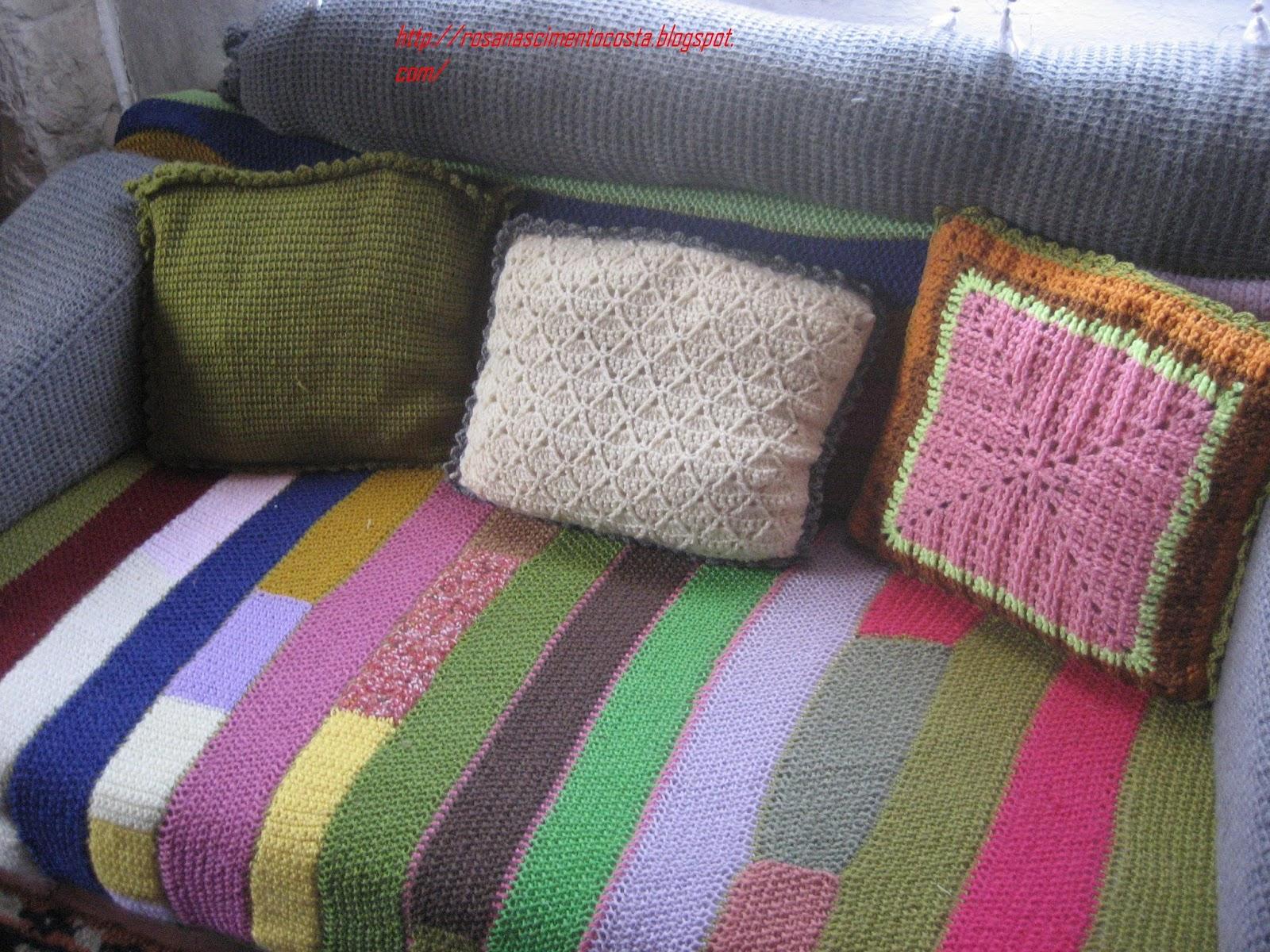 Sei que nada sei cobertura para o sofa - Tipos de colchas ...