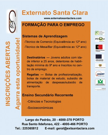 aprendizagem financiada Porto