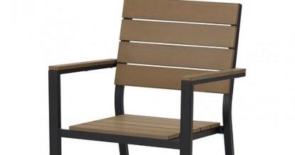 Marzua silla exterior con reposabrazos y mesa de exterior falster en ikea - Sillas con reposabrazos ikea ...