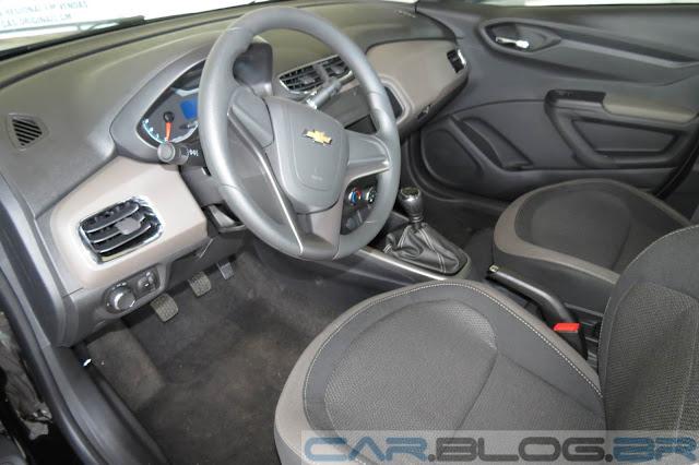 Novo Prisma 2013 LT 1.4 - interior