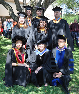 Graduates and Faculty from the Master of Forensic Science program