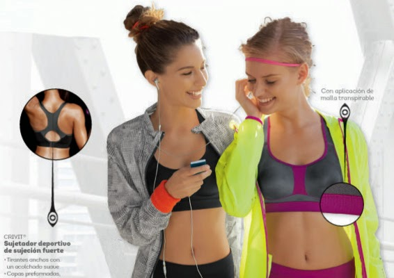 ropa running sujetador deportivo Lidl