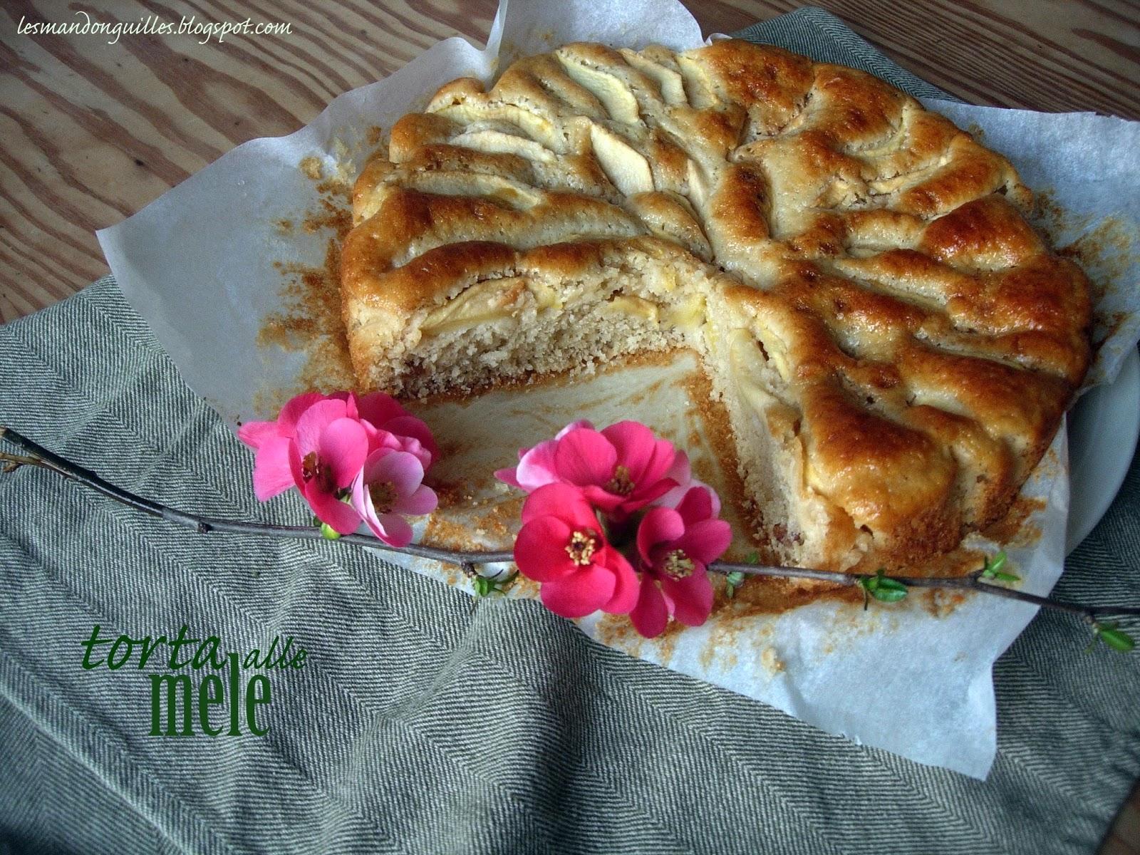 una semplice torta di mele..un po' speciale