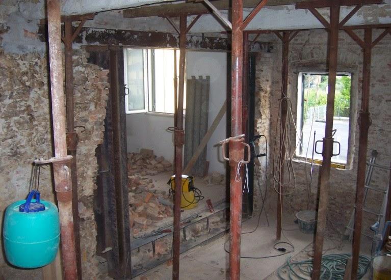 Calcolo cerchiatura metallica confortevole soggiorno - Casa in muratura portante ...
