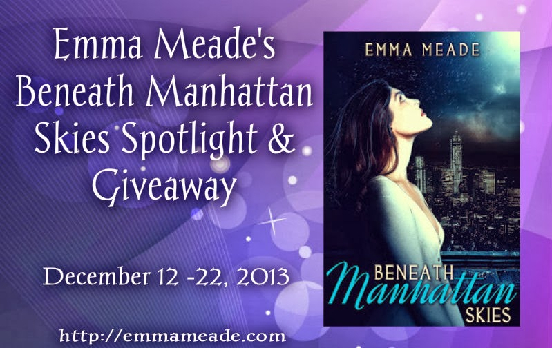 Beneath Manhattan Skies Spotlight & Giveaway
