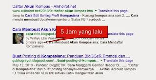 Cara Menampilkan Foto pada Hasil Pencarian Google