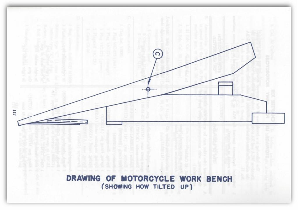 wooden motorcycle table plans