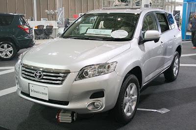 2011 Toyota RAV4 in siver color