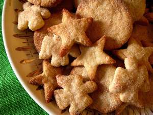 Bizcochitos, anise-flavored cookies