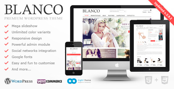 Blanco v2.9.2 - Responsive WordPress Woo/E-Commerce Theme
