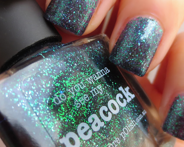 picture polish peacock swatch