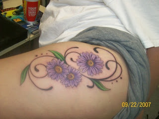 Daisy Tattoo Design Picture Gallery - Daisy Tattoo Ideas