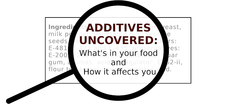 Additives Uncovered: What's in your food and how it affects you.