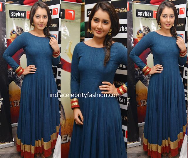 Raashi khanna in Vijayrana Studio Dress