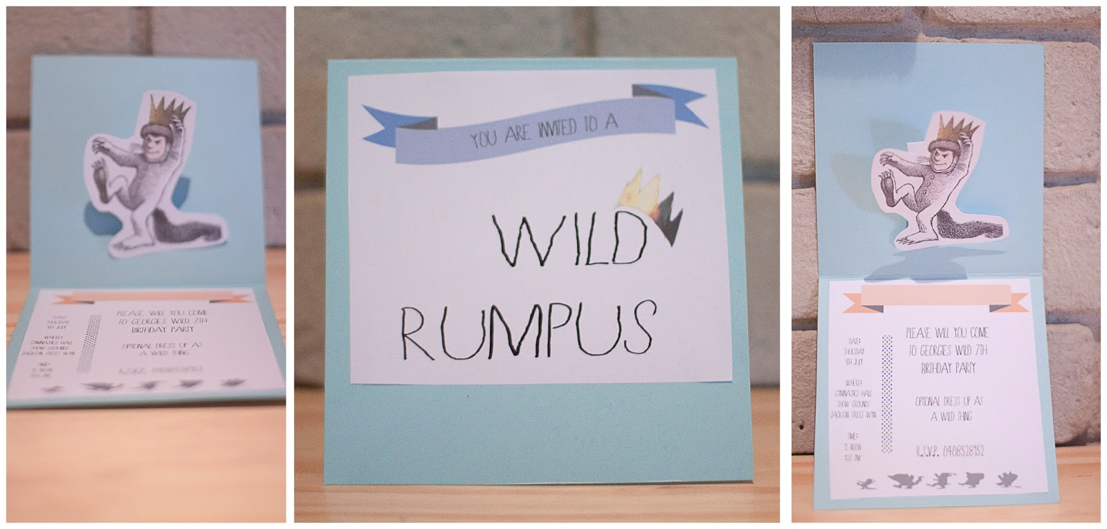 Where The Wild Things Are Free party invitation Download – Free Printable Party Invitations No Download