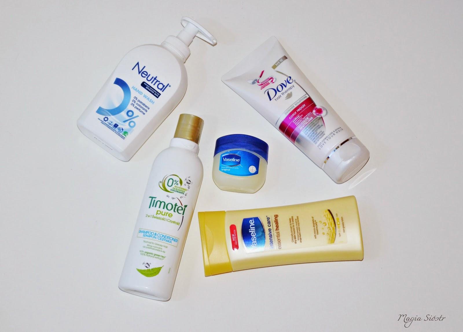kosmetyki, pielęgnacja zimą, ciało