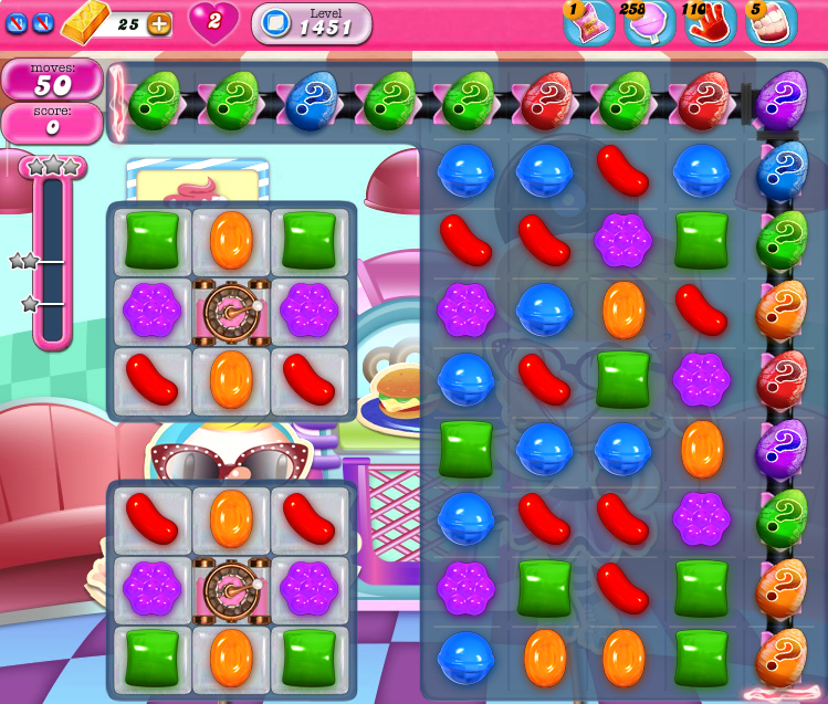 Candy Crush Saga 1451
